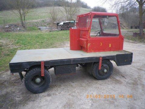 Schwerlasttransporter  Bj ca 1970