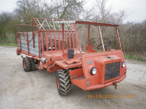 Rapid Cargotrac Allrad Kombiniert als Ladewagen oder Dungstreuer Bj 1973