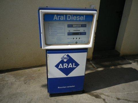 Aral Tanksäule  70er  Jahre