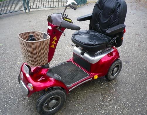 Senioren - Elektro - Mobil, Elektro - Rollstuhl, Shoprider Deluxe