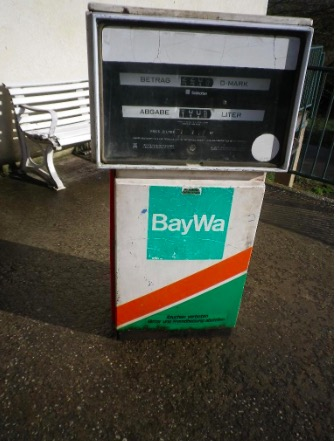 alte Tankstelle Baywa-Diese