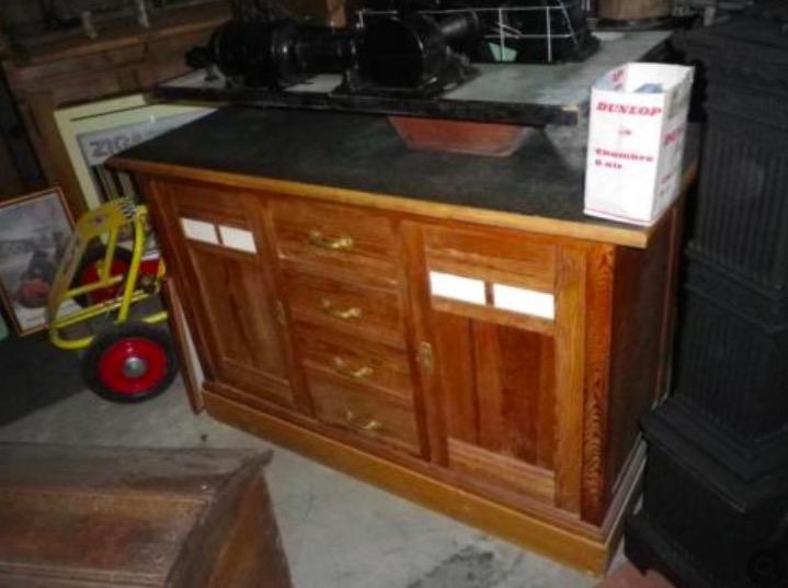 Küchenschrank unterteil alt