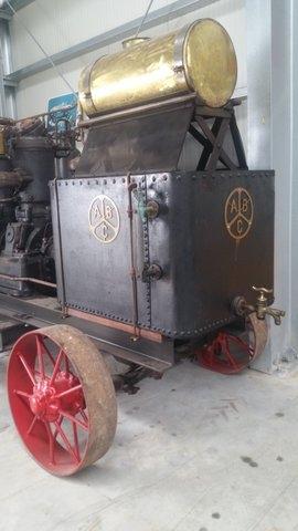 A B C  Glühkopf Motor