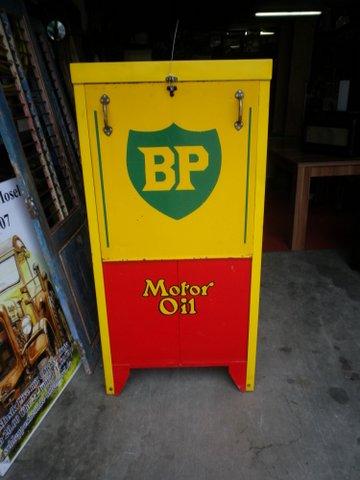 BP Motor Öl Säule