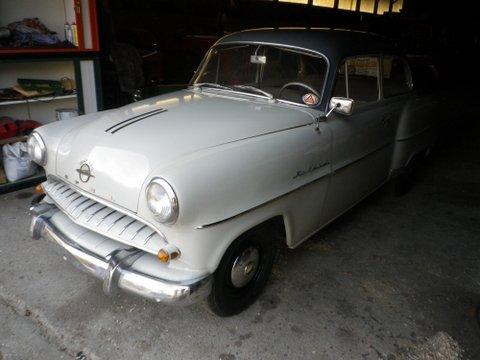 Opel Rekord Bj 1955 mit Brief (läuft gut)